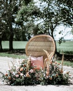 COUNTRY ROADS // Im a sucker for a good ol country road! and a wicker peacock chair!  . Had the absolute pleasure of creating with @floral.and.field  @greylilyphotography  on this blog feature for @albertaweddingsocial  . Our high fan back peacock chair is a favourite this season for couples creating a simple and eclectic look for their weddings. We love using these chairs in an unexpected way  . . #orangetrunkvintagerentals  #vintageyyc #vintage #vintageindustrial #loveislove… Wicker Peacock Chair, Good Ol, Vintage Industrial, Vintage Furniture, Trunks, Chairs, Country Roads, Fan, Weddings