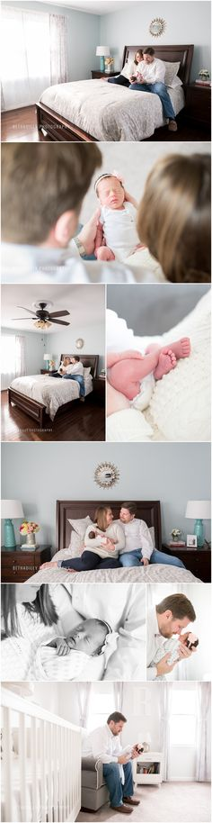 Home For Christmas | Springfield Newborn Photographer | Bethadilly Photography