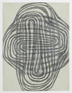 Mette Stausland Moving Part 14 2013 Pencil on paper 69 x 54 cm