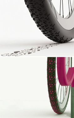Heart cycle tyre
