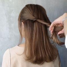 テクは不要!ほぼ「ねじるだけ」でできる♡毎日アレンジまとめ - LOCARI(ロカリ) Hair Arrange, Long Hair Styles, Beauty, Long Hairstyle, Long Haircuts, Long Hair Cuts, Beauty Illustration, Long Hairstyles, Long Hair Dos