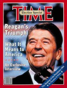 President Reagan, 1984