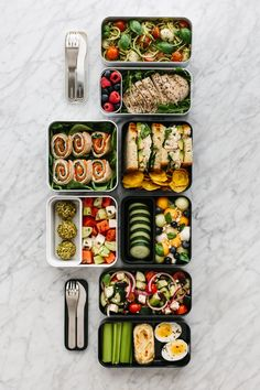 Lunch Meal Prep, Healthy Meal Prep, Healthy Snacks, Healthy Recipes, Healthy Lunch Boxes, Healthy Lunch To Go, Cool Lunch Boxes, Bento Box Lunch For Adults, Adult Lunch Box