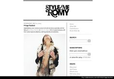 EDITORIAL LOVE    GASPARRE Cashmere 'Fur & Cashmere' blazer Style me Romy   Click to view full editorial --> http://stylemeromy.com/2014/05/fringe-festival/   Click to Shop --> http://www.gasparrecashmere.com/collections/new-arrivals/products/fur-cashmere-jacket-golden-black