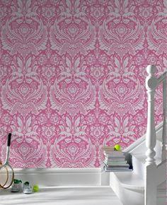 Desire: Pink Wallpaper Elixir Graham & Brown | Elixir Graham & Brown