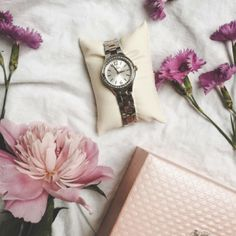 A beautiful watch like this Festina timepiece looks as gorgeous as the blooming flowers.   Repost: @iamyasssss