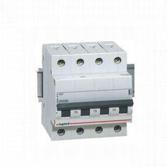Disjunctoare modulare DISJUNCTOR RX3 4P 10A C 4.5kA 419739 LEG.419739