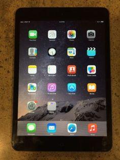 Apple iPad mini 1st Generation 16GB Wi-Fi  Cellular (AT&T) 7.9in - Black & S