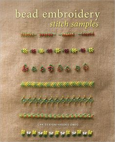 Bead Embroidery Stitch Samples (Pre-Order) - Interweave