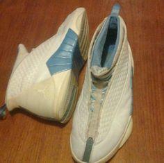 Jordan 15 Jordan 15 in the Columbia blue colorway. Size 12. 7/10 condition. From 1999. OGs Jordan Shoes Sneakers