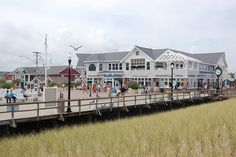 Bethany Beach, DE  had dinner with friends on the second story patio overlooking the beach