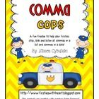 A fun freebie to help your firsties stop, look and listen at commas in a list and commas in a date!...