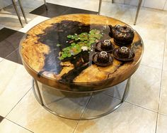 Original Table Acrylic on Resin