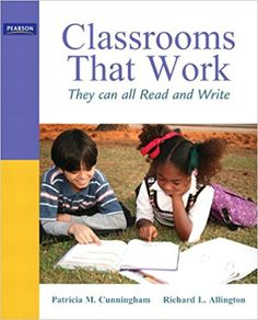 UNDERSTANDING & INSTRUCTION: Classrooms That Work: They Can All Read and Write. Provides number examples of spelling instruction building on basic phonics skills. Reading is an invaluable supporting students transitioning from inventive spelling (CTW, pg. Reading Comprehension Strategies, Reading Fluency, Reading Resources, Guided Reading, Concepts Of Print, Good Readers, Struggling Readers, Balanced Literacy, Literacy Activities