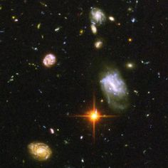 awesome Astronomers at the Space Telescope Science Institute unveiled the deepest portrait of the visible universe ever achieved in this image released in March 2004