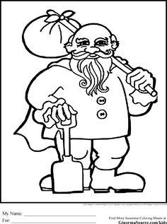 the hobbit coloring pages dwarf