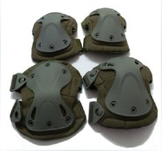 TPU Tactical military knee pad protection ,tactical knee elbow pads for security protection $6~$15