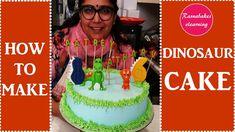 The good Dinosaur birthday cake design:whipped cream cake with fondant decorating Simple Birthday Cake Designs, Easy Kids Birthday Cakes, Cartoon Birthday Cake, Cake Designs For Kids, Friends Birthday Cake, 8th Birthday Cake, Simple Cake Designs, Dinosaur Birthday Cakes, Frozen Birthday Cake