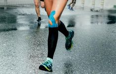 Wearing compression clothing has exciting potential benefits. We found the best fitness compression fit clothing including women's shirts, socks, and leggings. Knee Injury Treatment, Knee Taping, Runners Knee, Massage, Compression Clothing, Kinesiology Taping, Knee Arthritis, Shin Splints, Runner Girl