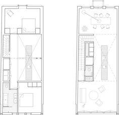 Matryoshka House,Floor Plan