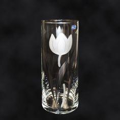 """SHOP-PARADISE.COM:  Vase """"Tulpe"""" silber, Durchmesser 12 cm, Höhe 30 cm 23,99 €"""