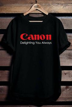 Canon logo T-shirt tee all size #fashion #clothing #shoes #accessories #mensclothing