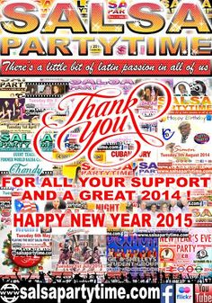 A HUGE THANK YOU for your  FANTASTIC SUPPORT throughout 2014!