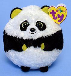 e1a3c7be827 Bonsai - Panda Bear - Ty Beanie Ballz Beanie Boos