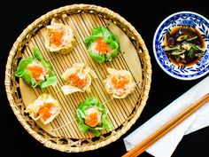 Siu mai, the Chinese steamed pork and shrimp dumplings, are one of the most popular items at dim sum parlors. But you don't have to go out just to enjoy them, because they're one of the easiest dumplings to make at home.