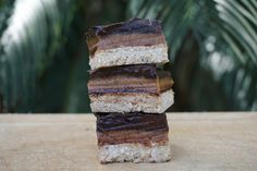 The Tasty K | Salted Caramel Chocolate Slices | http://thetastyk.com