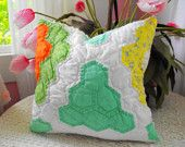 quilted pillow from etsy