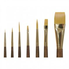 Art Supplies brushes $25 7 fine new brushes
