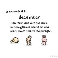 So we made it tot #december. There have been wins and losses. We struggled and made it out alive and stronger. Let's end the year right - www.vanmariel.nl