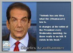 #CharlesKrauthammer