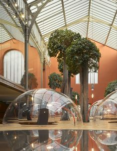 PONS + HUOT's Futuristic Bubbly Offices