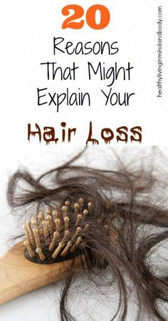 20 Reasons that might explain your hair loss - Hair Loss Treatment Why Hair Loss, Oil For Hair Loss, Hair Loss Cure, Hair Loss Women, Stop Hair Loss, Hair Loss Remedies, Prevent Hair Loss, Best Facial Hair Removal, Natural Hair Loss Treatment
