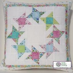 Friendship Circle Cushion Sewing Pattern for quilting by  Secret Garden Quilting