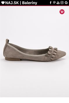 Semišové sivé baleríny s volánom Corina Tommy Hilfiger, Platform, Adidas, Flats, Shoes, Fashion, Flat Shoes Outfit, Shoes Outlet, Fashion Styles