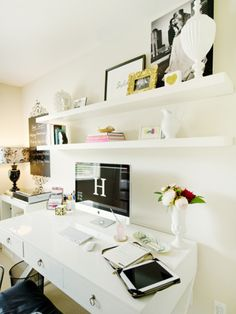 Thirstday Pinspiration  Black and White Workspace  Dress  Dish  Dwell