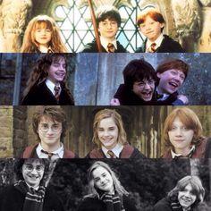 Harry Potter,Ron Weasley,Hermione Granger (Harry Potter)