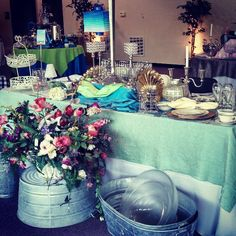 @allpropartyconsultantss photo: North Georgia Party Rental showroom. Set up provided by All Pro Party Consultants.