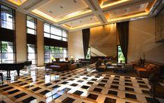 關傳雍設計工作室負責人 胡德如 Lobby Design, Atrium, Conference Room, Table, Furniture, Home Decor, Decoration Home, Room Decor, Tables