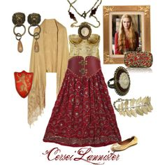 """""""Cersei Lannister"""" by pendientera on Polyvore"""