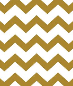 White and gold chevron--for gold tray