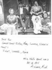 Extract record - FamilySearch Family Tree to James M Clifton - MyHeritage