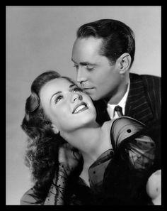 Deanna Durbin & Franchot Tone - His Butler's Sister (1943) promo shot