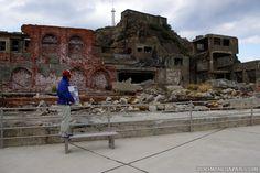 "Gunkanjima (Nagasaki) - Battleship Island (which was featured in ""James Bond: Skyfall"")."