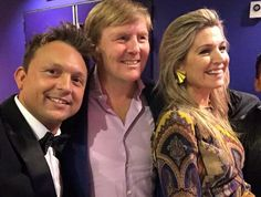 King Willem-Alexander and Queen Maxima of The Netherlands attended the concert of the Dutch Jazz group the Rosenberg Trio at the Schouwburg Almere in Almere.