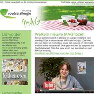 Schrijf je in voor de nieuwsbrief van Stichting Voedselallergie!