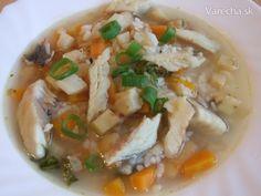 Rybacia polievka - Riblja juha (fotorecept) - recept   Varecha.sk Soup, Ethnic Recipes, Soups